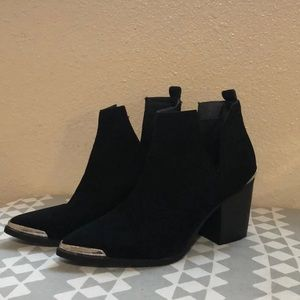 Mossimo cut out booties